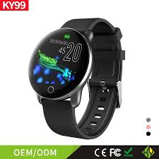 <b>Ky99 smart</b> bracelet <b>fashion</b> color screen Multi Sport mode heart rate ...