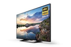 7  70 Inch LED TV Sony KD70X690E 4K Ultra HD Smart TV Canted View