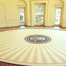 oval office rug. Ronald Reagan Oval Office Rug President W With A Tasteful .