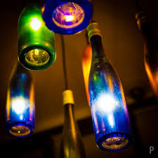 Glass Bottle Lamps Upcycle Empty Bottles Into Led Lamps Earth911com
