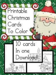 Find more pages for kids to color at these websites Printable Christmas Cards To Color Fun Craft For Kids Christmas Coloring Cards Christmas Cards Kids Free Printable Christmas Cards