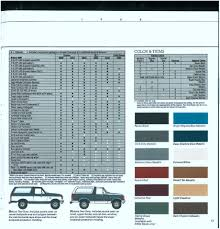 trailer light wiring 80 96 ford bronco ford bronco zone early 88 bronco brochure13 jpg