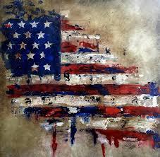 fidostudio painting american flag by tom fedro fidostudio