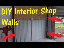 diy corrugated metal and plywood