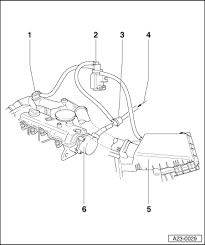 volkswagen workshop manuals > golf mk4 > power unit > 4 cylinder power unit > 4 cylinder diesel engine mechanics > exhaust system > exhaust gas recirculation system > vacuum hose schematic diagram > engine codes agr