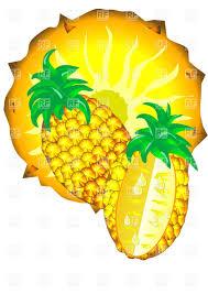 pineapple slice clipart. free pineapple slice clipart image
