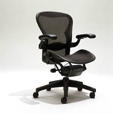 office chairs herman miller. Unique Miller Herman Miller Aeron Mesh Office Desk Chair Medium Sz B Fully Adjustable  Lumbar For Chairs N