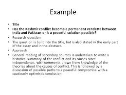 kashmir issue essay