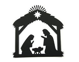 nativity silhouette patterns download. Brilliant Nativity More Colors Large Detailed Paper Nativity Silhouette  To Patterns Download C