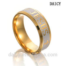 daicy whole jewelry cross band simple gold ring designs