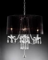 black drum chandelier with crystals interior design ideas