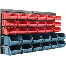 Pegboard storage bins Hooks Stalwart 125 In 14 875 Pegboard Bin 75 92226 The Home Michelrefatti Garage Wall Storage Bins Garage Designs