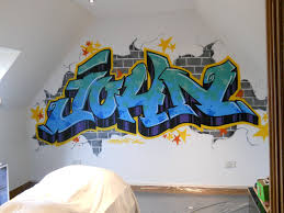 Kids Graffiti Bedrooms Fresh Paint