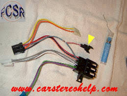 corvettwireharnessmod jpg wire harness and antenna adaptor direct plug in for installing 94 96 camaro cd player in to 84 89 corvette bose audio system