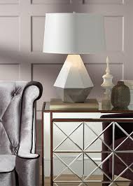 fall home decor trend geometric patterns on lighting and