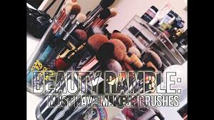 beauty ramble my must have makeup brushes