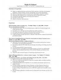 Sample Resume Health Insurance