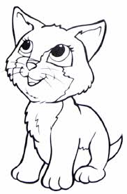 Small Picture Cats Coloring Page 7581
