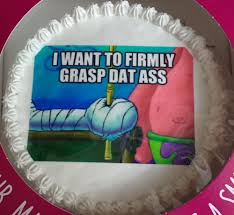 A Little Late Valentines Day Cake From My Girlfriend We Like
