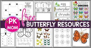 Free Printable Charts For Classroom Butterfly Preschool Printables Preschool Mom
