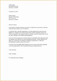 Format Letter Of Resignation Format Letter Of Resignation Samples Valid Sample Resignation Letter
