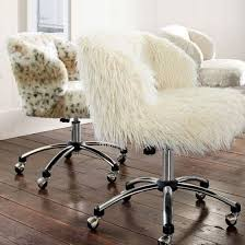 fur desk chair cover just pillow faux fur desk chair uk