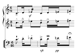 Each measure is given a set number of beats to fit within itself, and this value is usually given in the form of a time signature. Common Music Notation