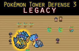 Pokemon Tower Defense 3 Legacy Game