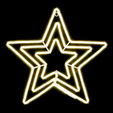 Details Zu Led Neon Stern Weihnachtsdeko Fenster Deko Weihnachtsbeleuchtung 63cm 600 Leds