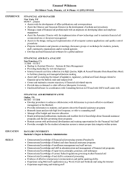 Financial Aid Assistant Sample Resume Financial Aid Resume Samples Velvet Jobs 22