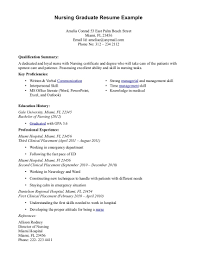 Registered Nurse Resume Templates Free Best Of Graduate Rn Resumes