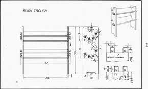 plate 26 book trough mechanical drawing 99