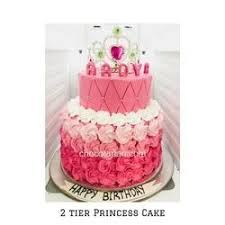 Chocotarian 2 Tier Rose Chocolate Princess Cake Rs 1200 Kilogram