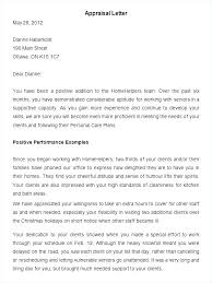 Employee Performance Letter Sample Employment Performance Salary Review Template Request Letter