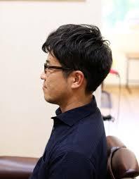2種類のパーマを使い40代男性の髪形をカッコよくする 茨城県北茨城