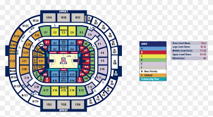 State Farm Center Seating Chart With Seat Numbers Basketball Mckale Center Seating Chart Rows Hd Png