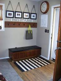 black and white striped runner rug decoration minimalist entryway rugs ideas image next