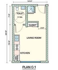 Exciting Floor Plans For Efficiency Apartments On Interior Gallery Ideas