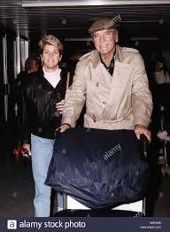 Burt Lancaster Schauspieler mit seiner Braut zu Susan Scherer in ...