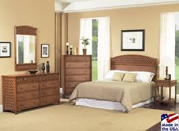 Monte Carlo 7180 Rattan and Wicker Bedroom Set from Classic Rattan