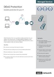 Produktbeschreibung DDoS Protection