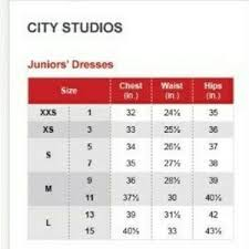 City Studio Dress Size Chart Nwt Fit Flare Cut Out Dress Jrs Sz 7 Nwt