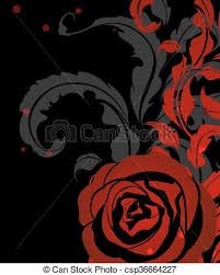 red and black vintage background. Unique And Red Rose Vintage Background  Csp36664227 Inside And Black Vintage Background K
