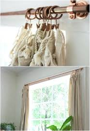 easy copper pipe curtain rods simple diy shower rod ideas hooks give gorgeous style budget simple curtain rods
