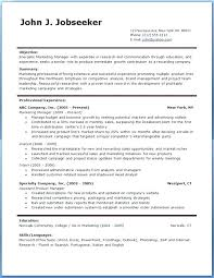 Professional Resume Template Free Download Samples Examples