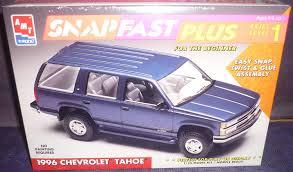 Amazon.com: #8236 AMT/Ertl 1996 Chevrolet Tahoe Snap Fast Plus 1 ...