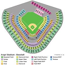 Angel Tickets Seating Chart 20 Images Los Angeles Angels Seat Chart