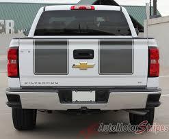 2014-2015 Chevy Silverado Racing Stripes 1500 Rally Truck Vinyl ...