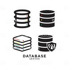 データベースのデザイン テンプレート つながりのベクターアート素材や