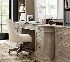 pottery barn bedford rectangular office desk. livingston large desk pottery barn bedford rectangular office g